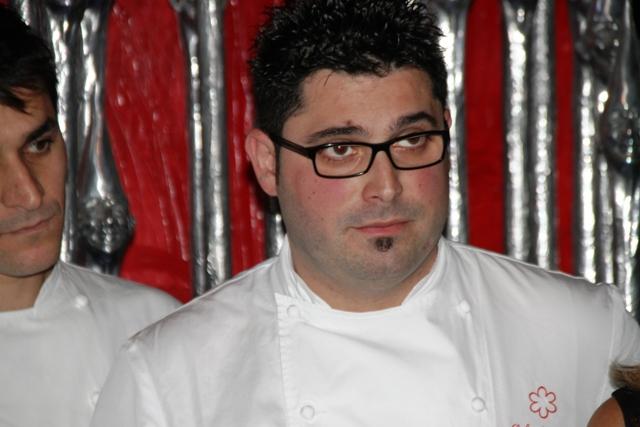 Salvatore Bainco lo chef resident