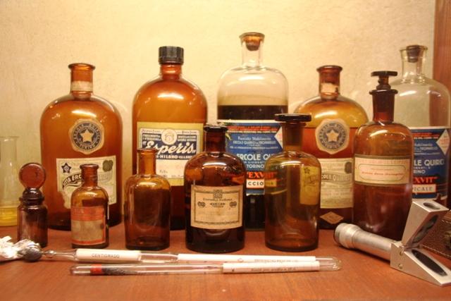 vecchie bottiglie