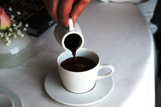 dove anche il caffè è torrefatto in cucina