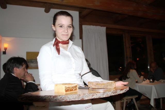 le torte al tavolo