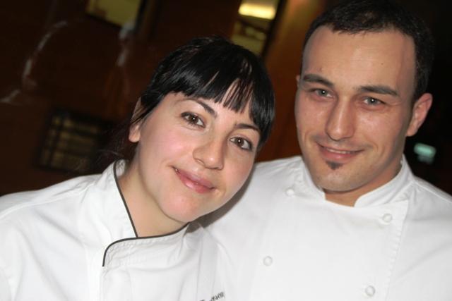 Alessandro Cannata e Francesca Fucci