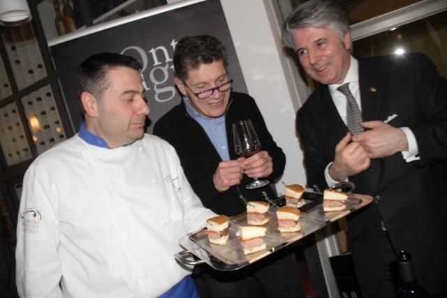 con Simone Fracassi e Alessandro Scorsone