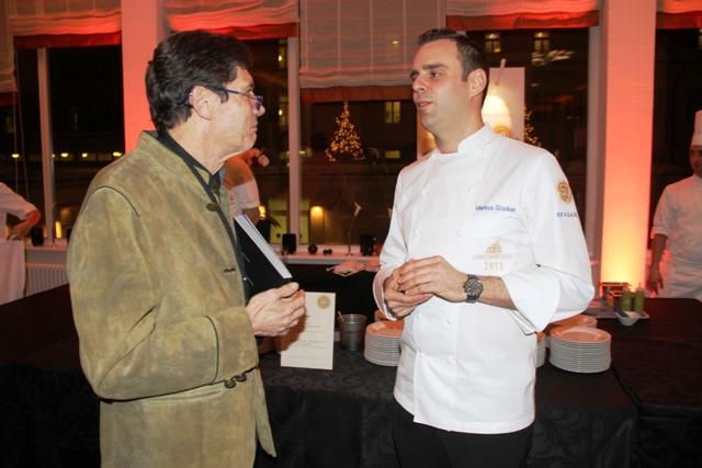 Markus Glocker, Gordon Ramsay all'Hotel London di New York