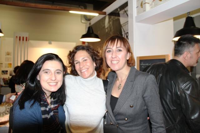 Lorenza con Lara Bottura e Manuela Fissore