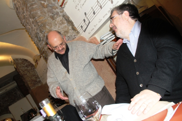 Fabio Turchetti e Daniele Cernilli