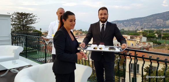 Che terrazza al Majestic Palace  di Sorrento!