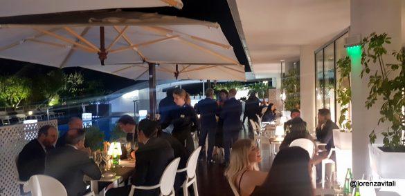Terrazze romane: la cena di Dal Degan e Gaglione