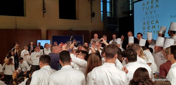 Massimo Bottura apre l'anno accademico di ALMA