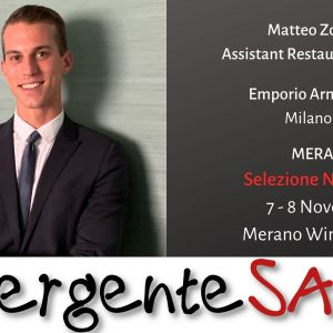 Matteo Zoppelolo Assistant restaurant manager