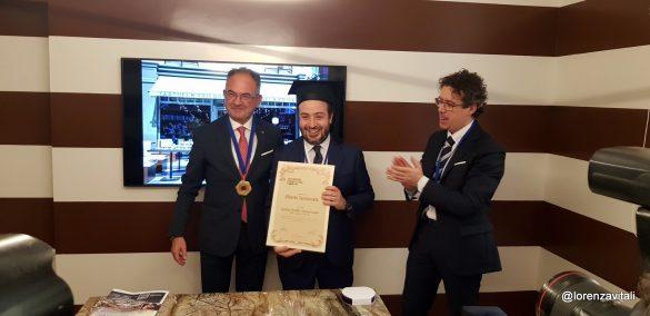 Alberto Sermoneta ambasciatore del tartufo