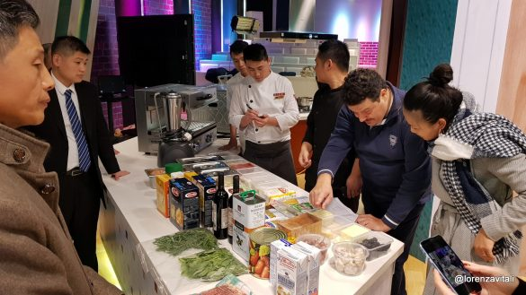 A DongYing si parla di cucina italiana