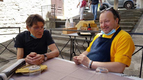 Brindisi con Giuseppe Rosati