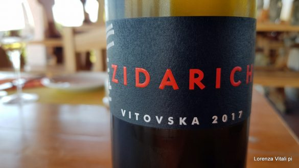 Zidarich, la Vitovska
